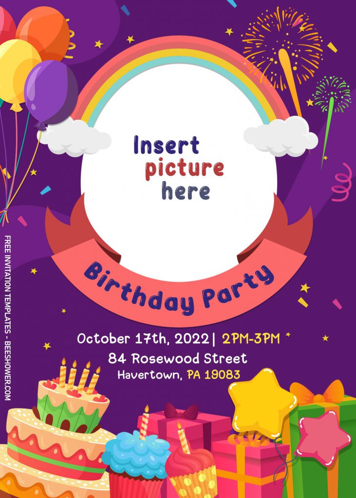 10+ Children Birthday Invitation Templates